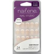 Nailene Nails, Short Length, Classic 71177