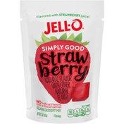 Jell-O Simply Good Strawberry Gelatin Mix