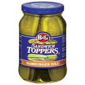 B&G Pickle Slices Hamburger Dill Sandwich Toppers