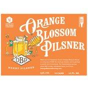 Orange Blossom Brewing Co. Orange Blossom Pilsner (OBP)
