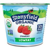 Stonyfield® Organic Strawberry Lowfat Yogurt
