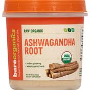 Bare Organics Ashwagandha Root, Organic, Raw