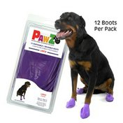 Pawz Large Natural Rubber Dog Boots