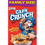 Cap'N Crunch Sweetened Corn and Oat Cereal