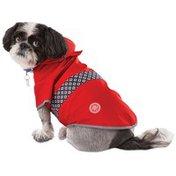 Good2 Go Medium Reversible Red Dog Raincoat