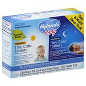Hyland's Tiny Cold, Daytime, Nighttime, Quick-Dissolving Tablets, Day & Night Value Pack