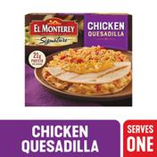 El Monterey Signature Chicken Quesadilla Meal