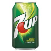 7UP Soft Drink Cans
