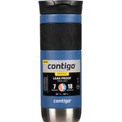 Contigo Travel Mug, Leak-Proof, Blue Corn, Byron Snapseal, 20 Fluid Ounce