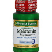 Nature's Bounty Melatonin Quick Dissolve