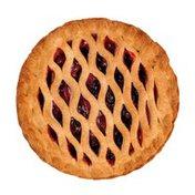 "Jessie Lord 8"" Baked Double Crust Razzelberry Pie"