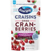 Ocean Spray Dried Cranberries Infused with Pomegranate Juice