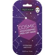 Freeman Peel-Off Mask, Cosmic, Holographic, Hydrating Amethyst