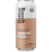 Better Booch cinnamon + vanilla + oolong tea ORGANIC SPARKLING PRobiotic tea KOMBUCHA
