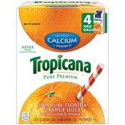 Tropicana Pure Premium Calcium + Vitamin D Orange Juice