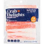 Louis Kemp Imitation Crab, Leg Style, 1 lb