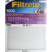 3M Air Filter, High Performance, 1500
