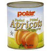 Polar Apricots Halves, in Heavy Syrup, Peeled, Pitted