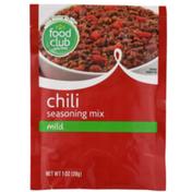 Food Club Mild Chili Seasoning Mix