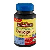 Nature Made Omega-3 540mg EPA+DHA Dietary Supplement Vegetarian Softgels - 60 CT