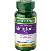 Nature's Bounty Melatonin, Dual Spectrum, 5 mg, Bi-Layer Tablets