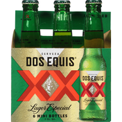 Dos Equis Beer, Lager Especial, Mini