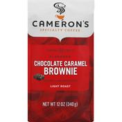 Camerons Chocolate Caramel Brownie coffee