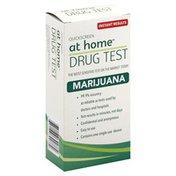 At Home Drug Test, Marijuana, Instant Results