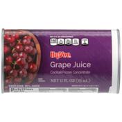 Hy-Vee Grape Juice Cocktail Frozen Concentrate