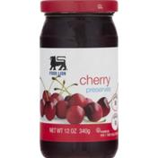 Food Lion Preserves, Cherry, Jar