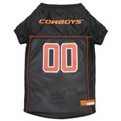 Pets First Extra Small Collegiate Oklahoma State Cowboys Dog Mesh Jersey
