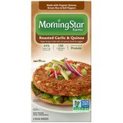 Morning Star Farms Roasted Garlic & Quinoa Veggie Burgers