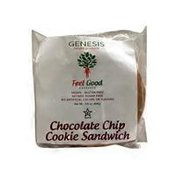 Feel Good Deserts Chocolate Chip Cookie Sandwich