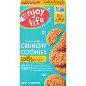 Enjoy Life Foods Vanilla Honey Graham Handcrafted Crunchy Cookies