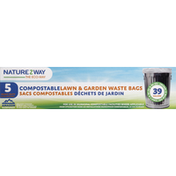 NatureZWay Bag Cmpstbl Lwn & Grd