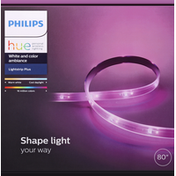 Philips Lightstrip Plus, White and Color Ambiance, 80 Inches