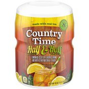 Country Time Half & Half Lemonade Iced Tea Naturally Flavored Powdered Drink Mix