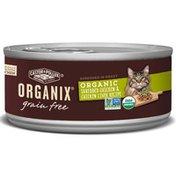 Organix Food for Cats, Grain Free, Organic, Chicken & Chicken Liver in Gravy, Shredded