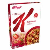Kellogg's Special K Breakfast Cereal, 11 Vitamins and Minerals, Made with Real Strawberries, Red Berries