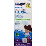 Equate Allergy Relief, Grape Flavor, Children