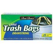 Best Choice Drawstring Trash Bag