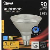 Feit Electric Light Bulb, LED, Bright White, 11.1 Watts
