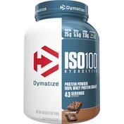 Dymatize Protein Powder, Fudge Brownie, ISO 100 Hydrolyzed