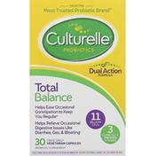 Culturelle Probiotics, Total Balance, Vegetarian Capsules