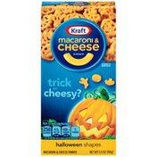 Kraft Macaroni & Cheese Dinner Halloween Shapes