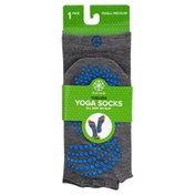 Gaiam Socks, Yoga, Toeless, Small/Medium