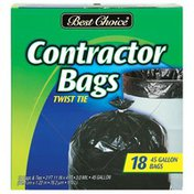 Best Choice Contractor Bags