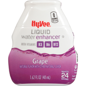 Hy-Vee Liquid Water Enhancer, Grape
