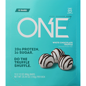 One Protein Bar, White Chocolate Truffle Flavored