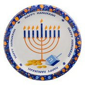 Party Creations Sturdy Style Plates Ah Hannukah - 8 CT